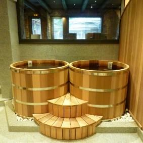ванная комната в японском стиле дизайн