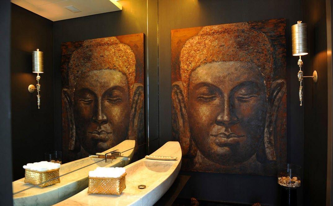 декор японской ванной