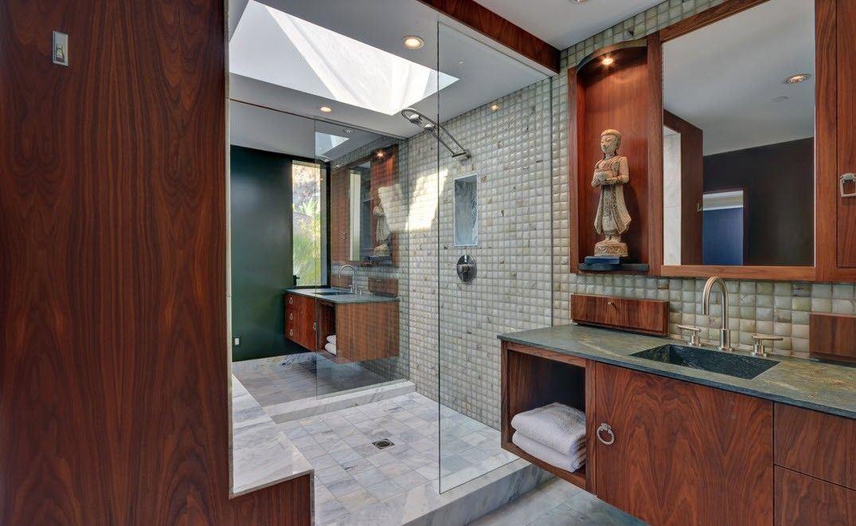 ванная в японском стиле декор
