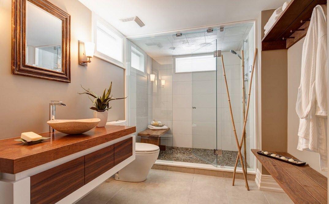 ванная в японском стиле фото идеи