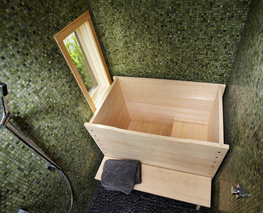 ванная в японском стиле идеи декора