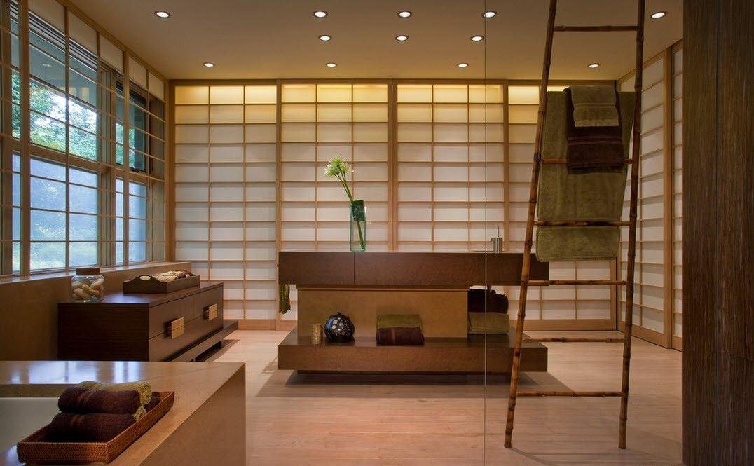ванная в японском стиле обзор