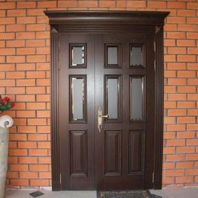 входные деревянные двери виды