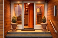 входные деревянные двери идеи варианты