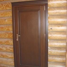 входные деревянные двери фото варианты