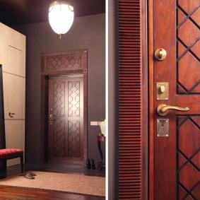 входные деревянные двери идеи дизайна