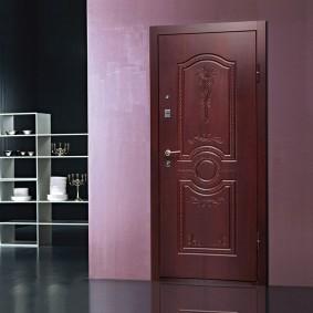 входные деревянные двери идеи дизайн