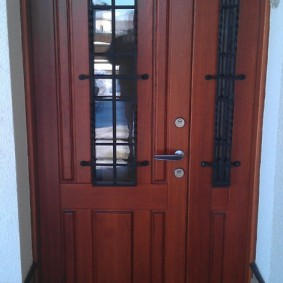входные деревянные двери фото дизайн