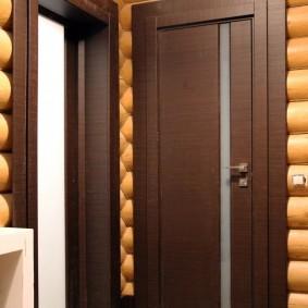 входные деревянные двери дизайн