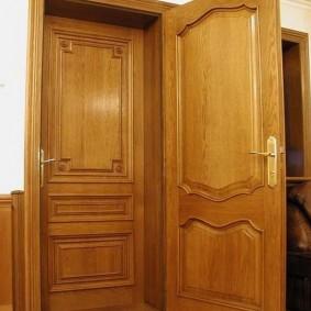 входные деревянные двери фото видов