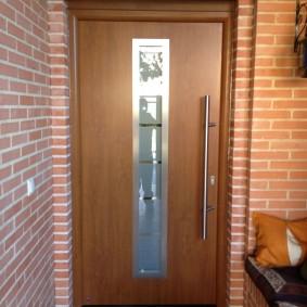 входные деревянные двери фото виды