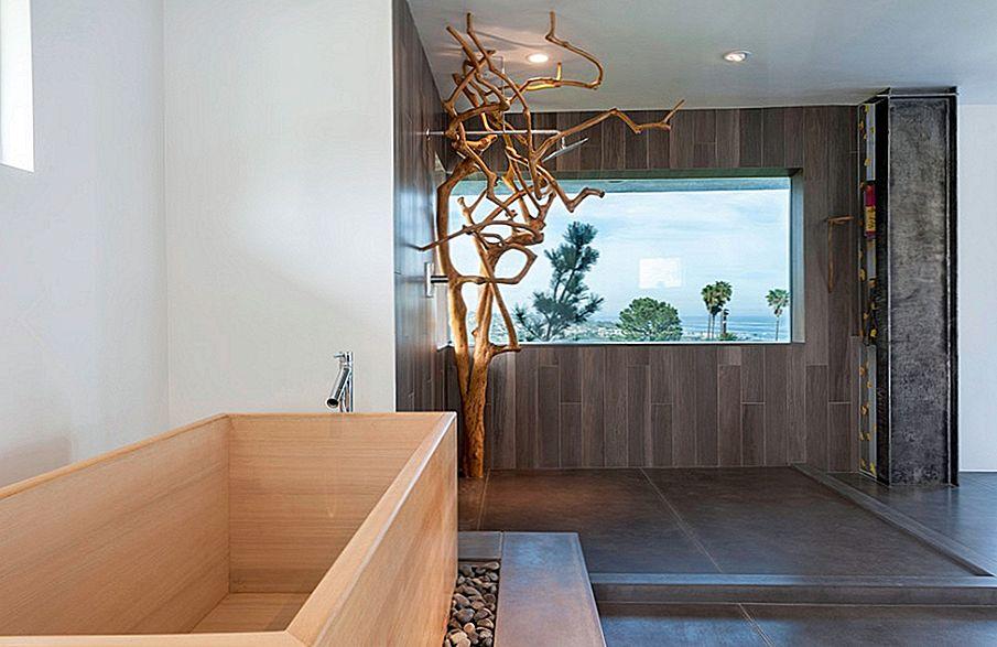японская ванная фото