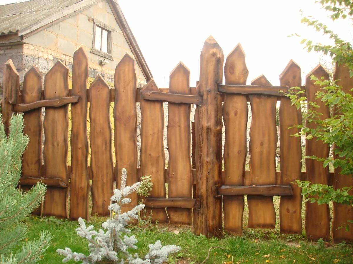 забор для дачного дома