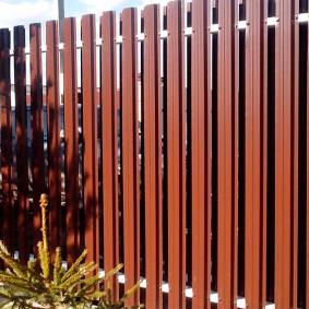 забор из евроштакетника фото дизайн
