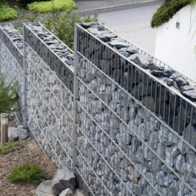 забор из габионов обзор идеи