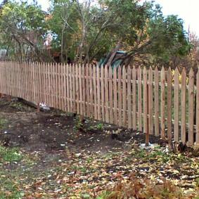 забор из горбыля виды фото