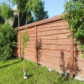 забор из горбыля обзор