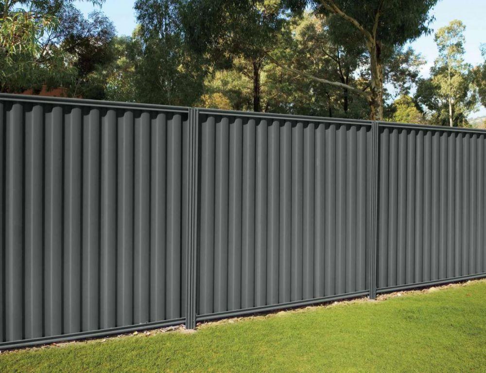 забор из профнастила фото дизайн