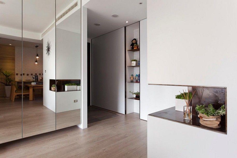 Зеркала в интерьере однокомнатной квартиры