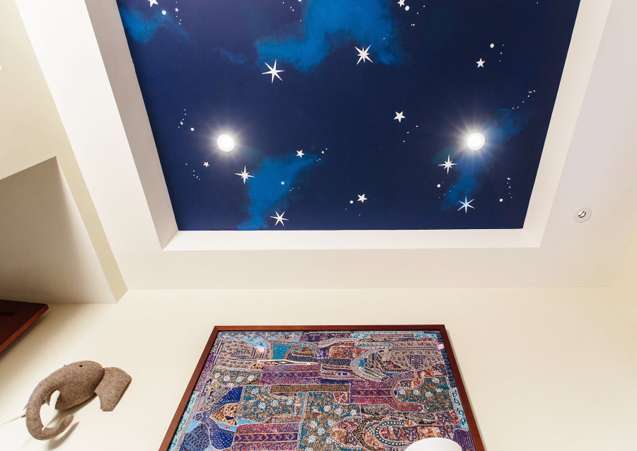 Фотообои с изображением звездного неба