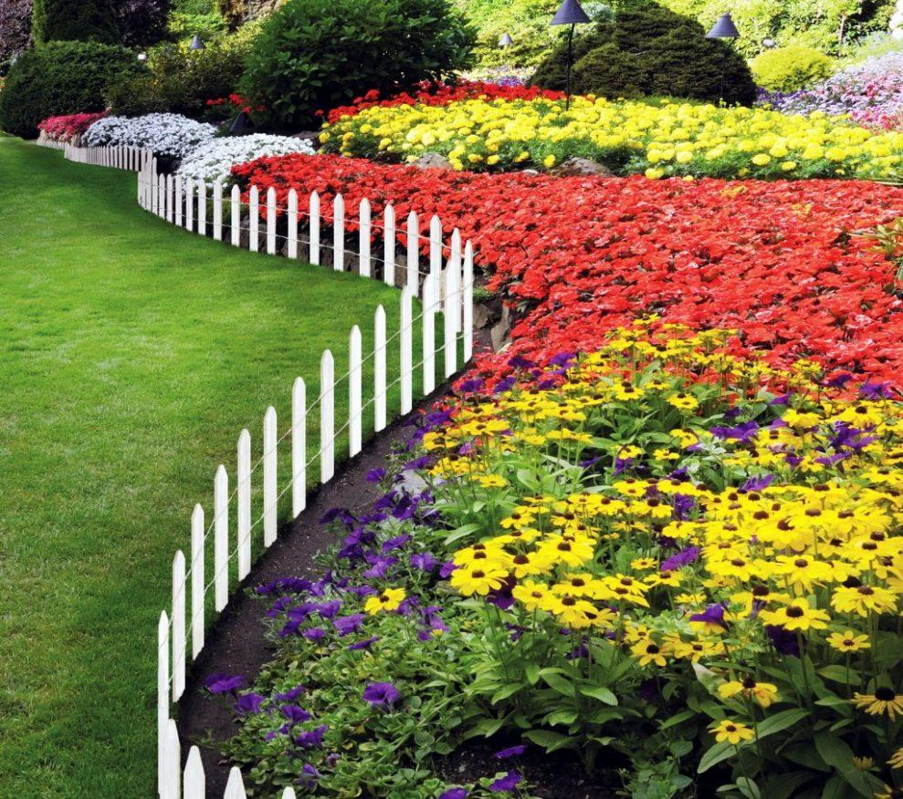 смотреть фото красивых цветников и садов как сейчас живёт