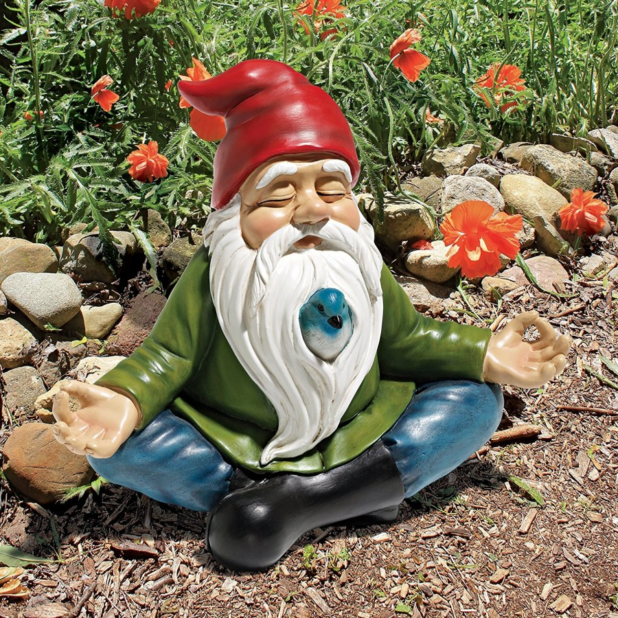 садовые гномы декор фото