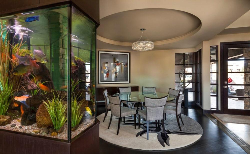 зелёные, аквариум в гостиной фото дизайн юмора нынче жить