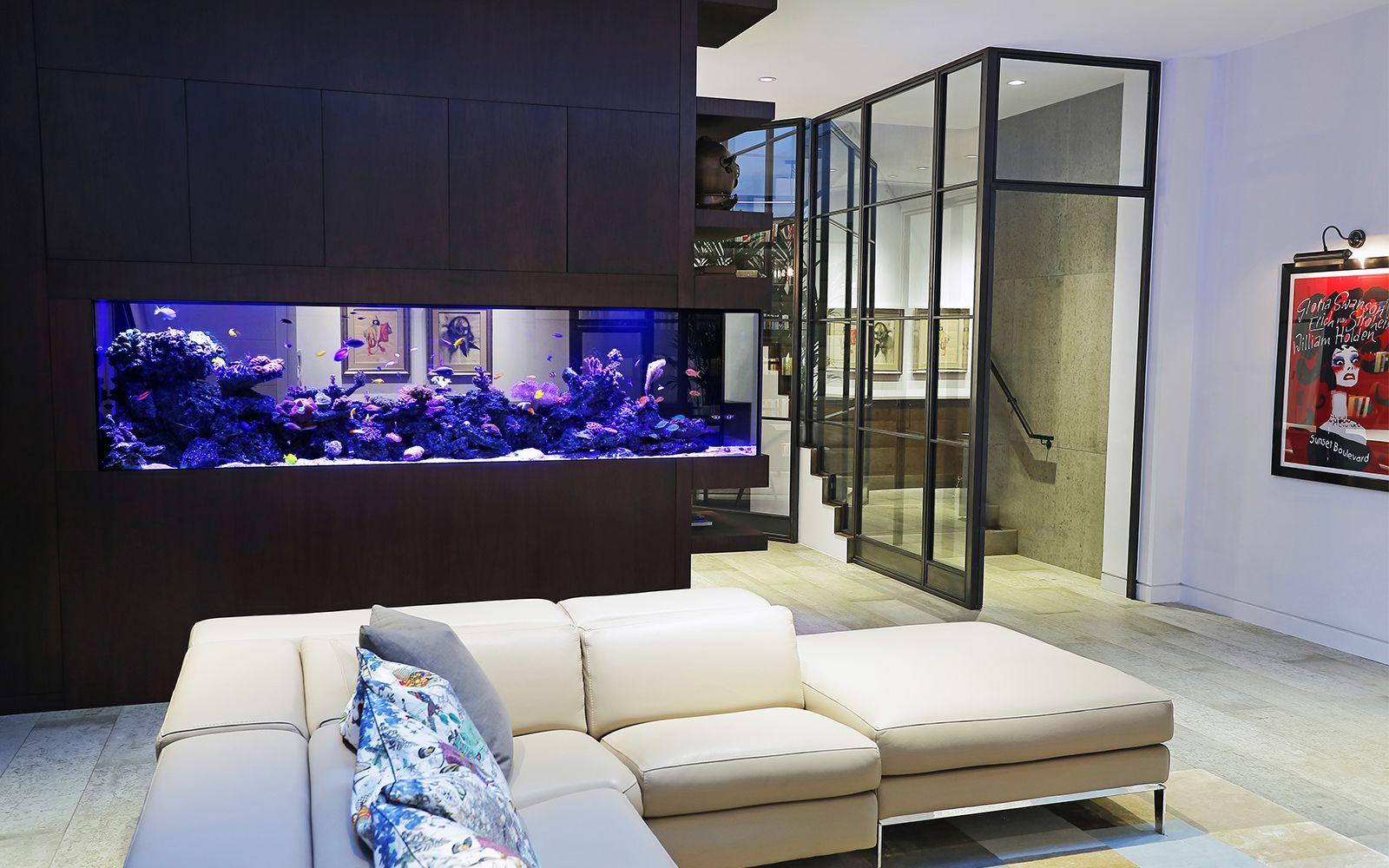 аквариум в однокомнатной квартире фото того