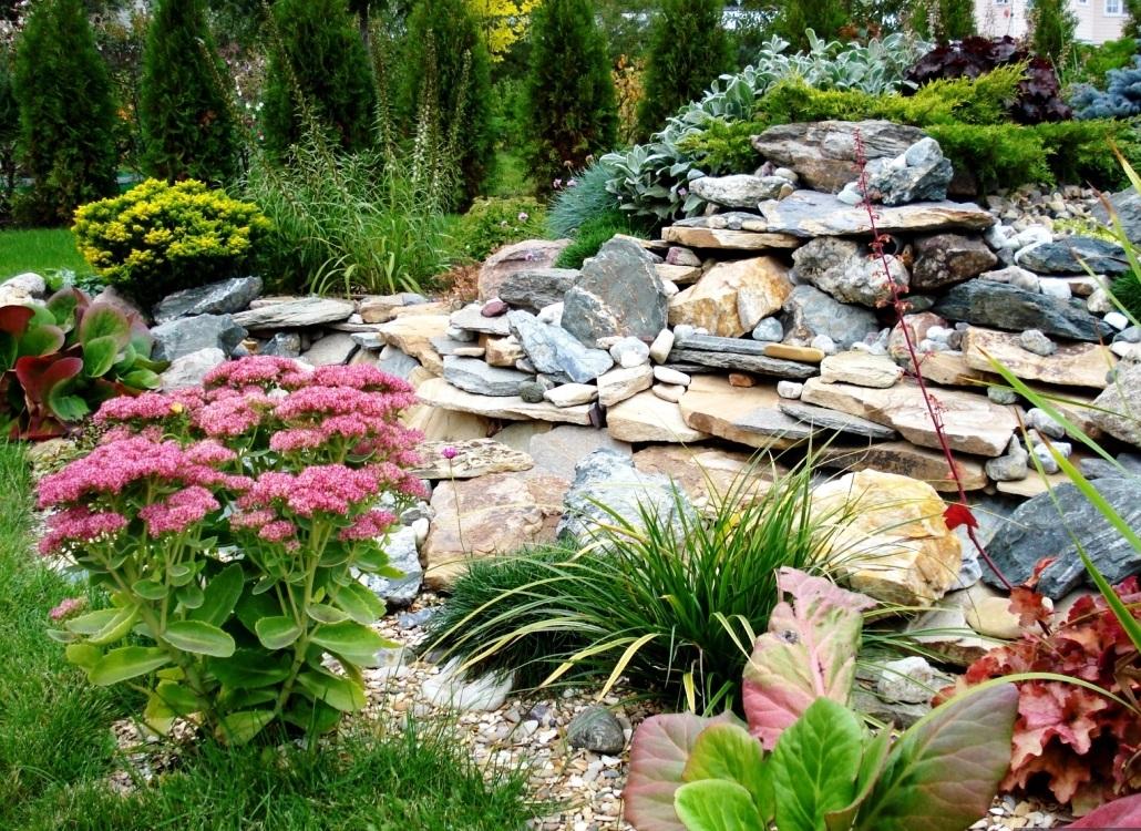 альпийский дизайн сада