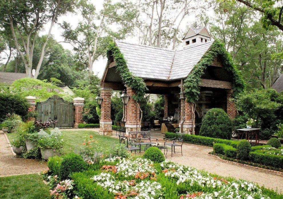 английский дизайн сада фото