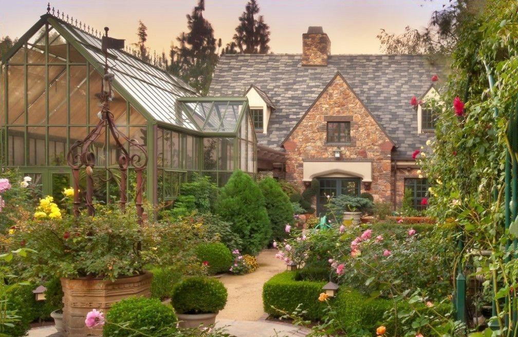 английский дизайн сада