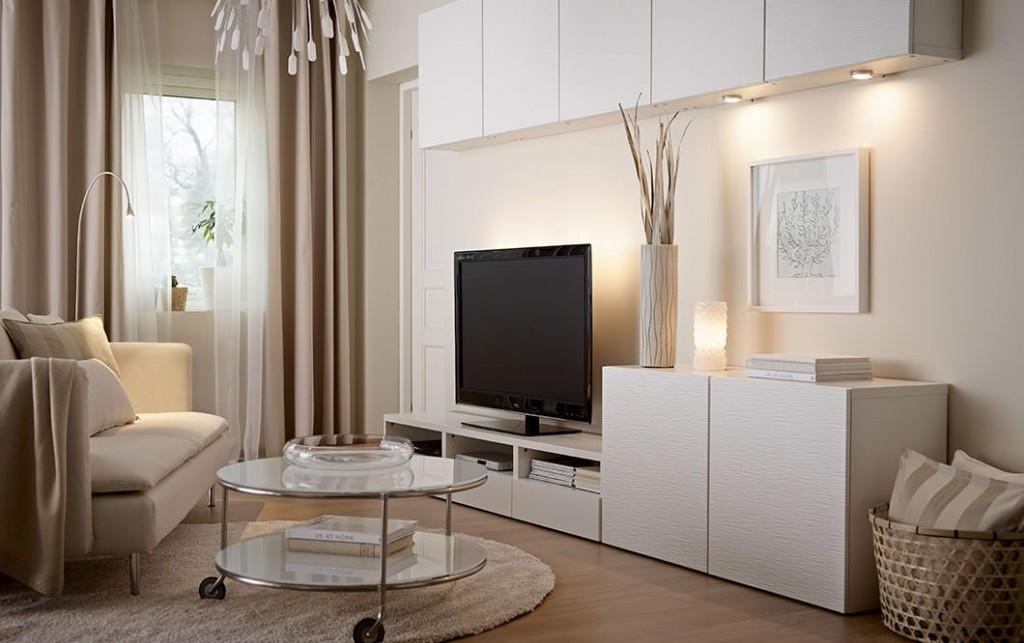 Декоративная подсветка глянцевой мебели