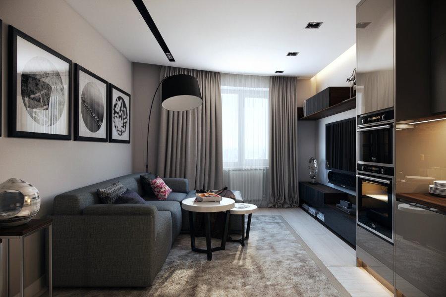 Уютная квартира для одинокого человека