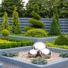декоративные растения для сада виды дизайна