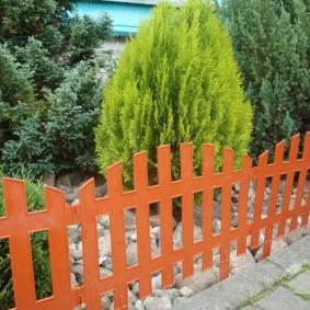 декоративный забор для сада декор