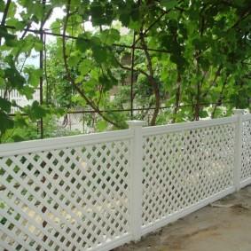 декоративный забор для сада фото декора