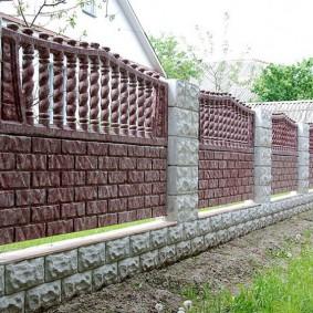декоративный забор для сада идеи декор