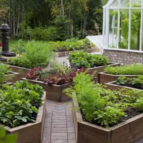 декоративный забор для сада варианты
