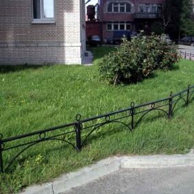 декоративный забор для сада варианты фото
