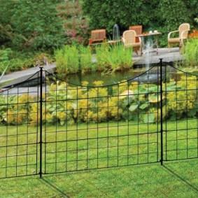 декоративный забор для сада варианты идеи