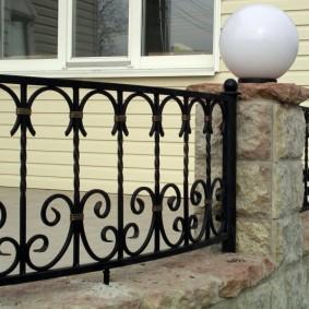 декоративный забор для сада обзор