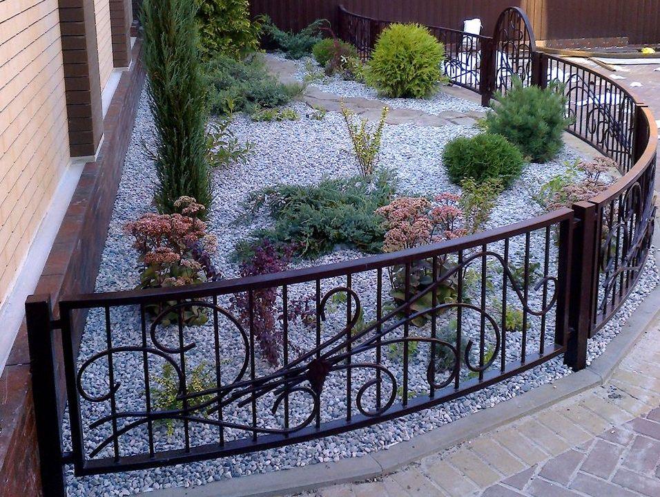 декоративный забор металлический
