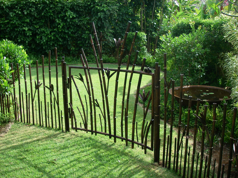 декоративный забор необычный