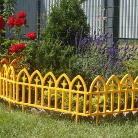 декоративный забор пластик