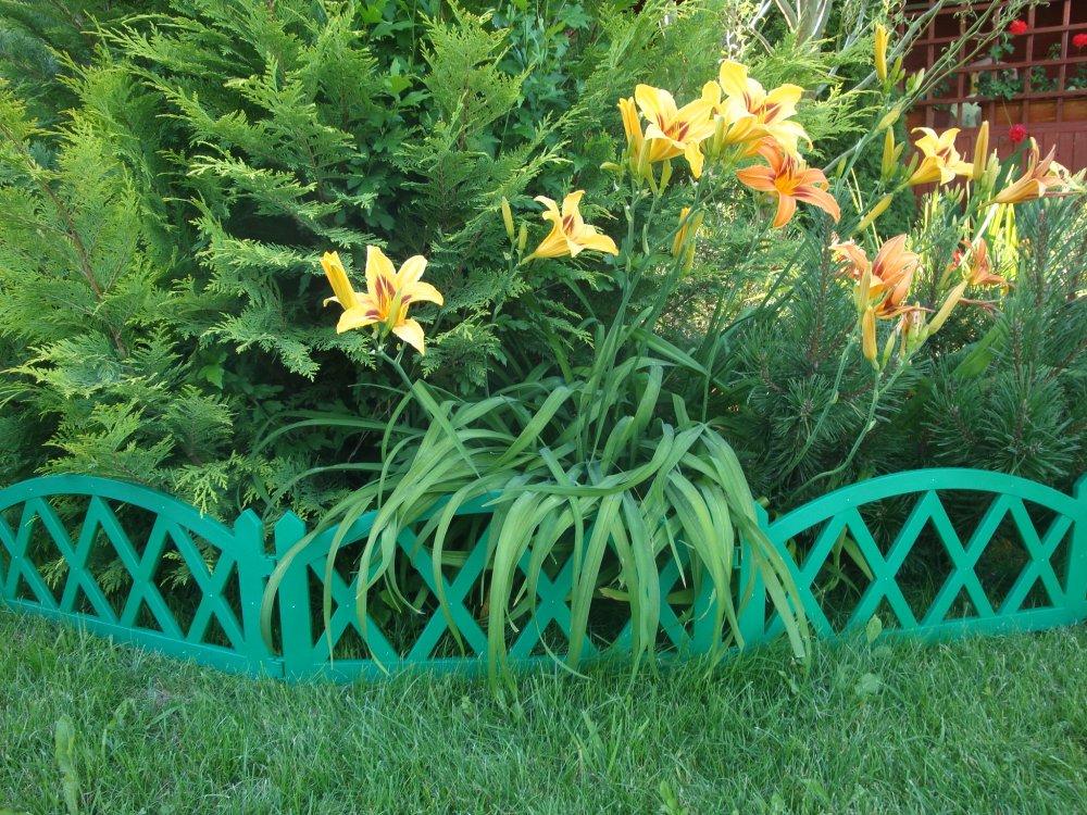 декоративный забор пластиковый