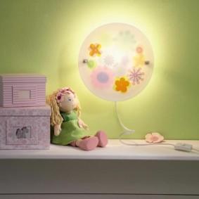 детские светильники декор идеи