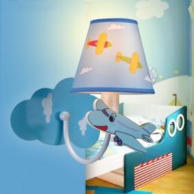 детские светильники интерьер