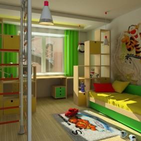 детские светильники интерьер фото