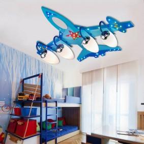 детские светильники идеи интерьера
