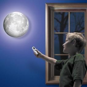 детские светильники оформление